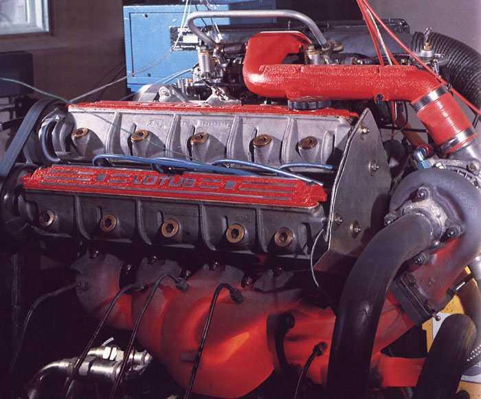lotus esprit turbo  engine
