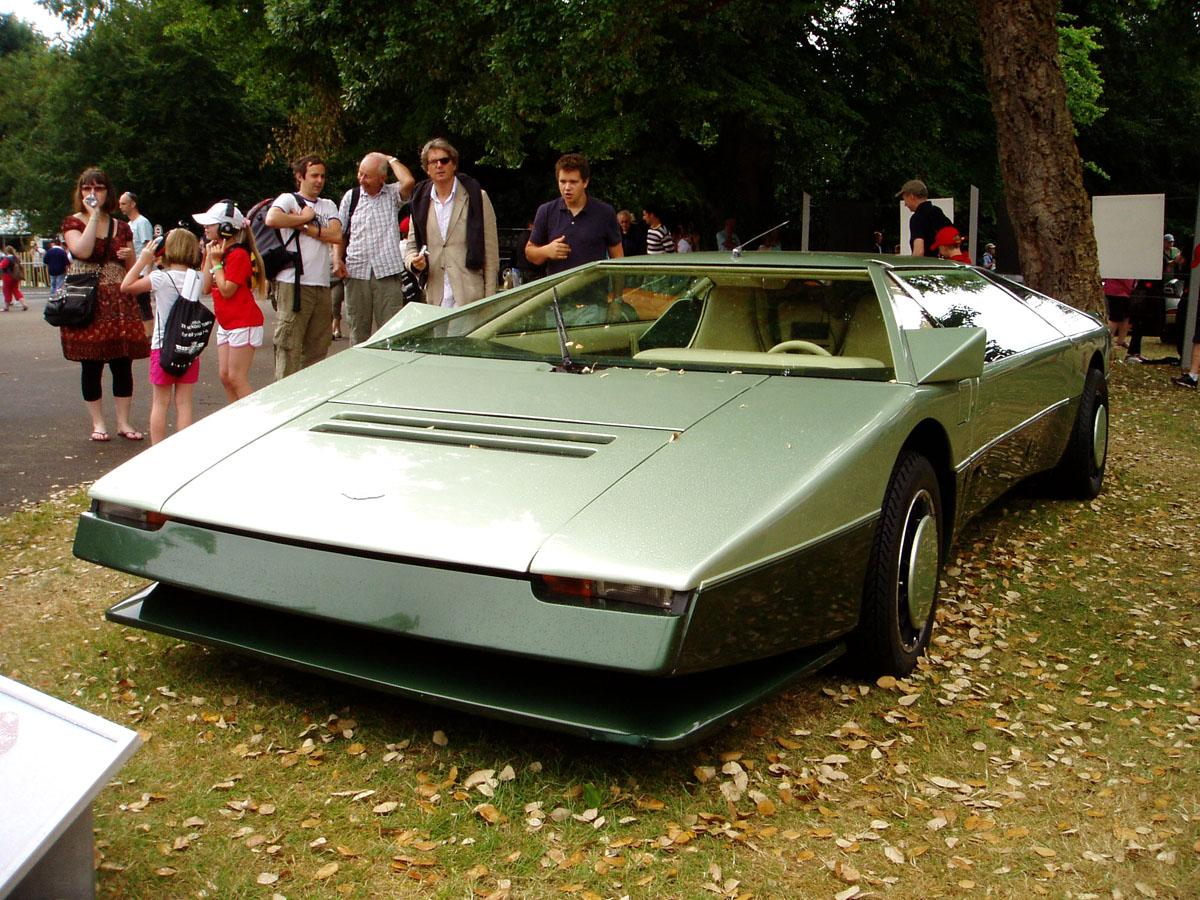 1980s Supercars Aston Martin Bulldog