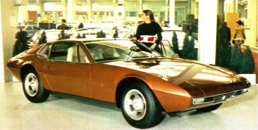 1970s Supercars De Tomaso Zonda