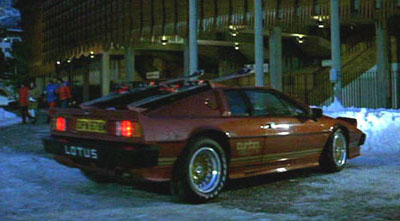 James Bond Lotus Esprit Car