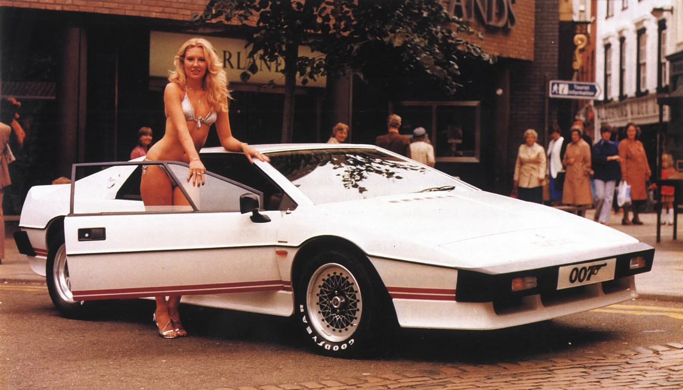 The White Lotus Turbo Esprit, featured in the Spy Who Loved Me