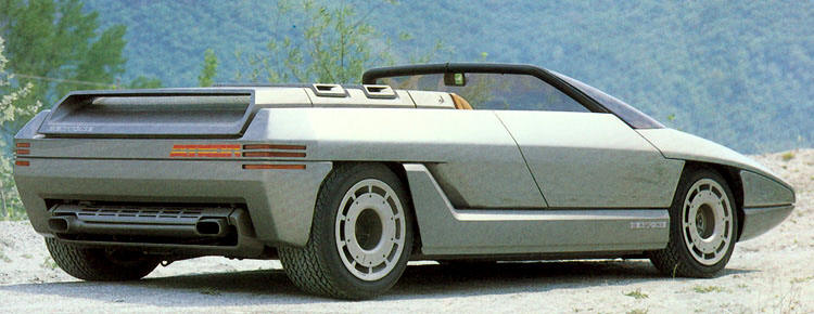 Lamborghini Athon (carro conceito) - 1980.-www.lotusespritturbo.com