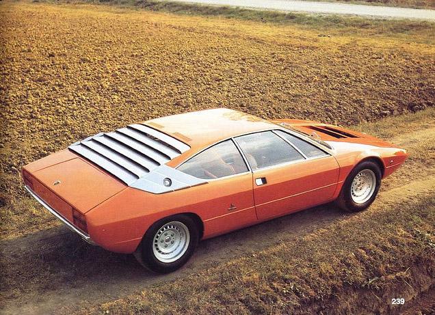 1970s Supercars Lamborghini Urraco