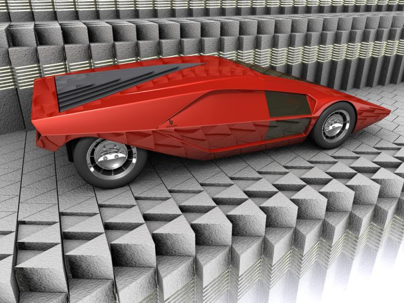 Latest Amazing Carz 2010 Lancia Stratos Concept Photos