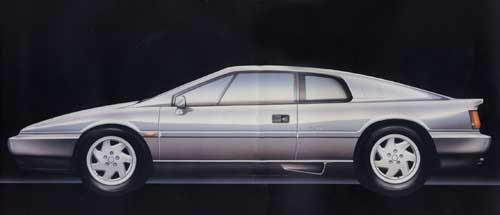 Lotus Esprit Sketch