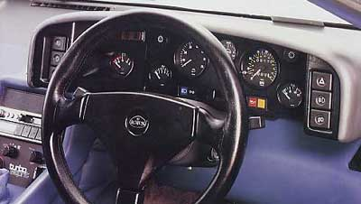Lotus Esprit Dashboard