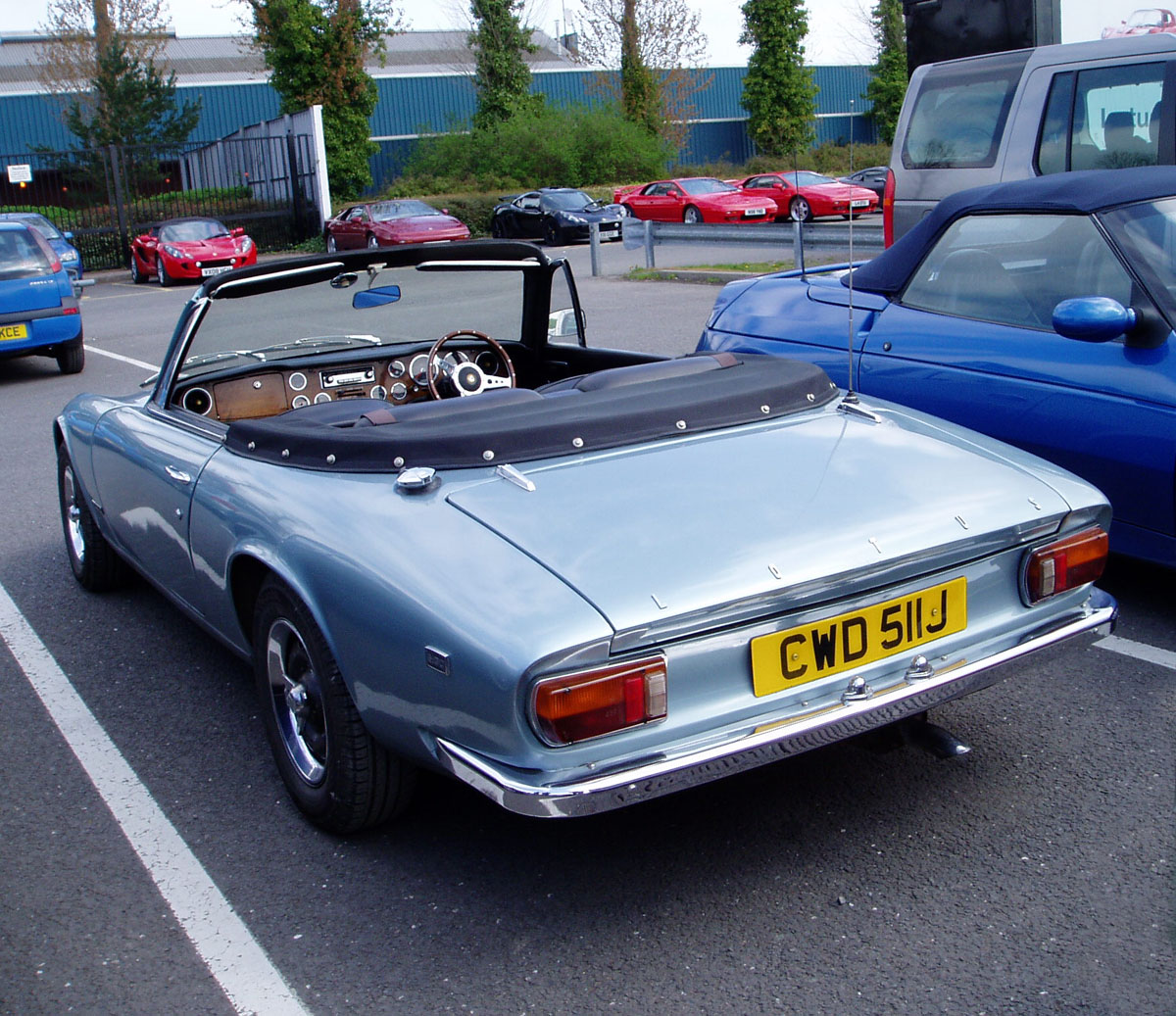 Lotus Elan +2 Convertible