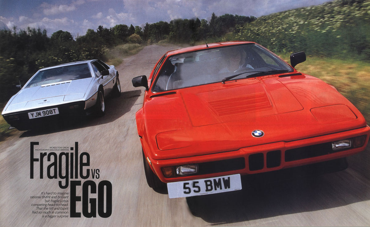 That the M1 and Esprit had so