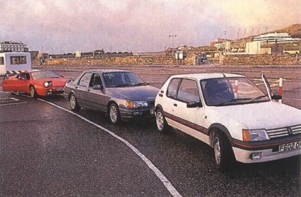 Lotus_Esprit_Ford_Cosworth_Peugeot_205_GTI