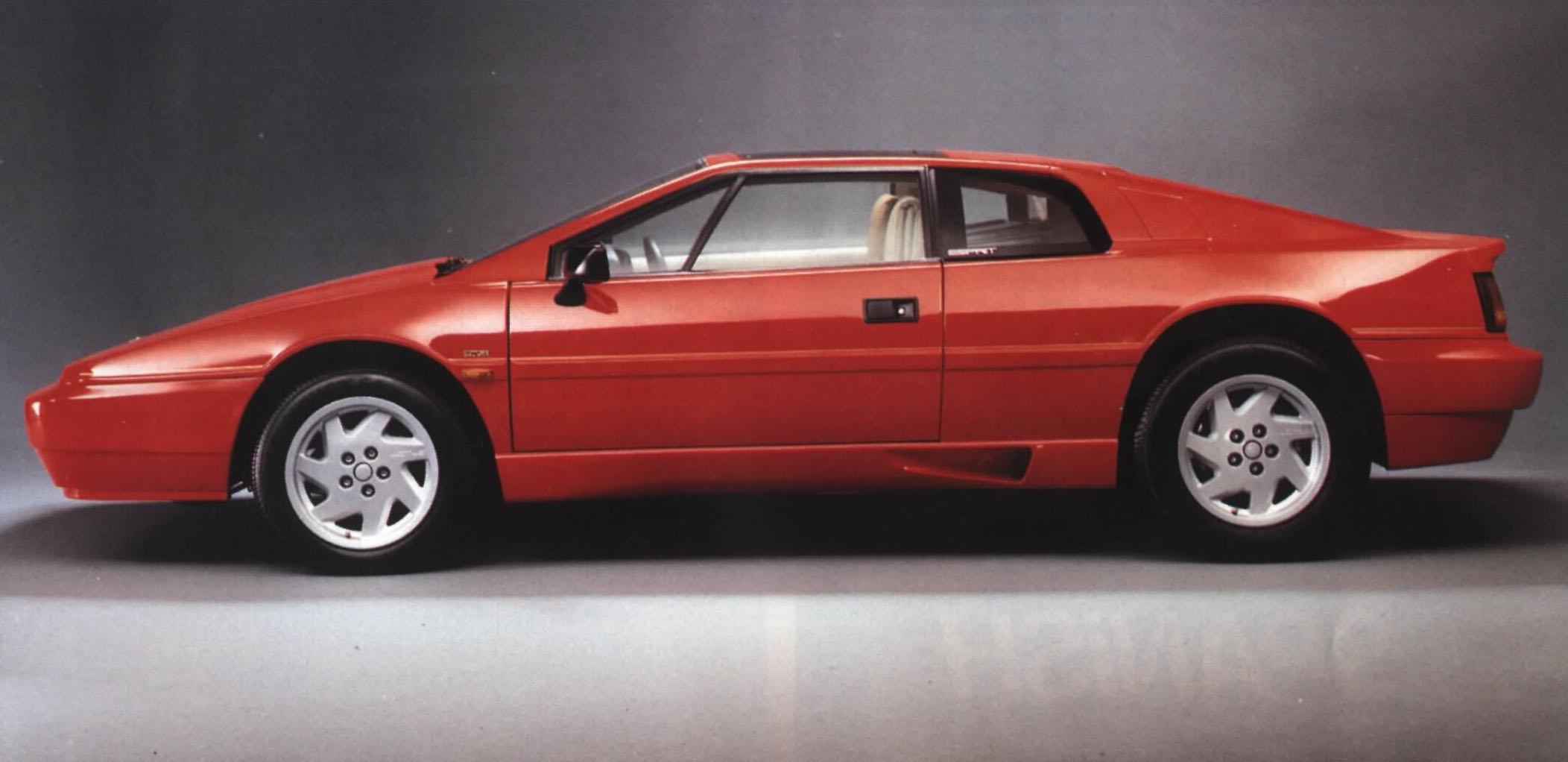 Lotus Esprit Turbo Versus The Na