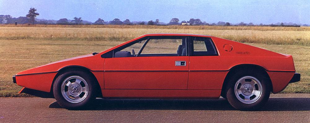 Lotus Esprit 2013. Lotus_Esprit_S1_1976