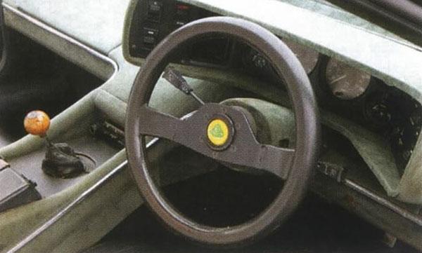Lotus Esprit S Dashboard on Lotus Esprit Practical Classics Magazine