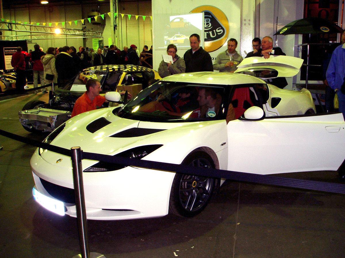 Lotus Evora on Club Lotus Donington 2009 Festival
