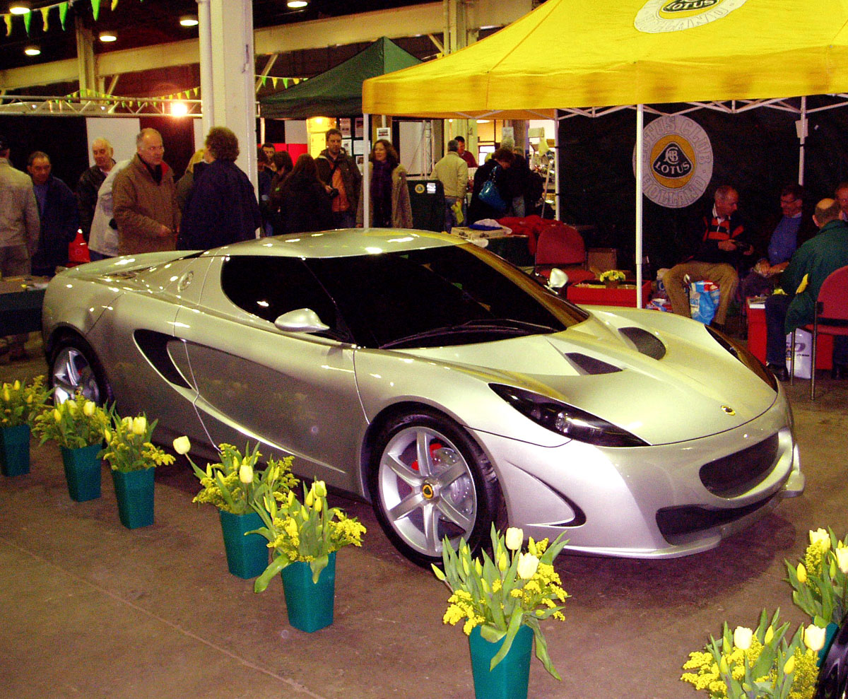 Lotus M Side on Club Lotus Donington 2009 Festival