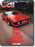 Lotus Turbo Esprit Road Test