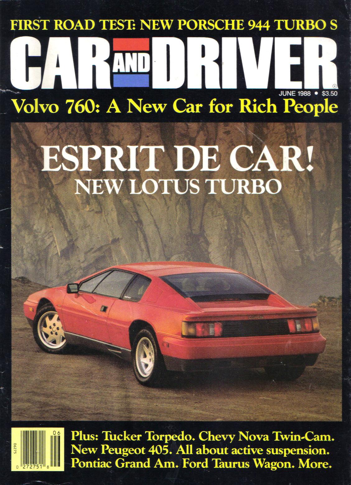 Car Audio Magazine >> Lotus Esprit Magazine Covers