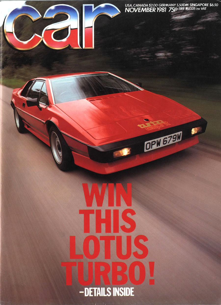 lotus esprit magazine covers. Black Bedroom Furniture Sets. Home Design Ideas
