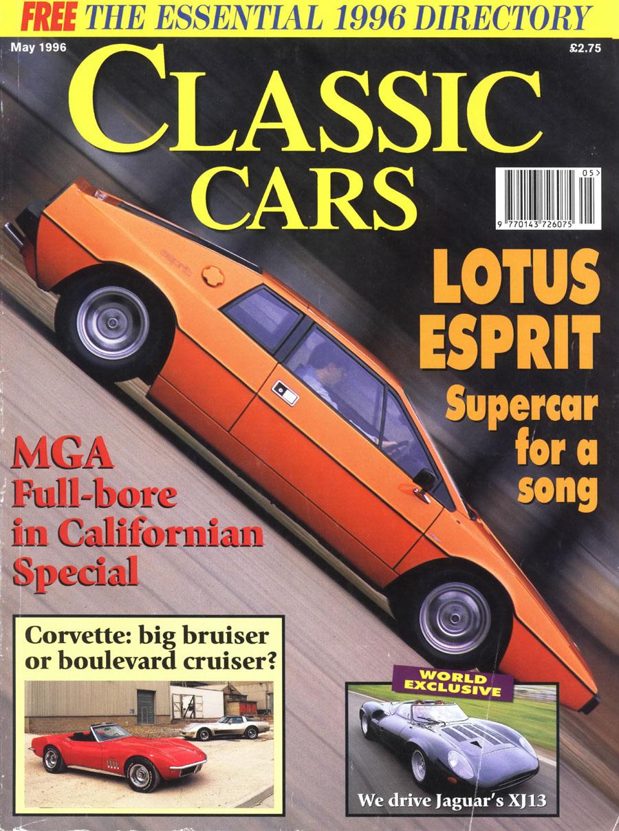 Lotus Esprit Magazine Covers