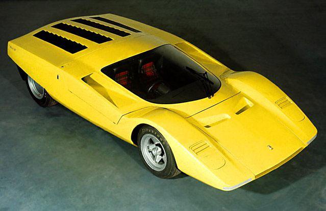 1960s Supercars Ferrari 512s Pininfarina 1969
