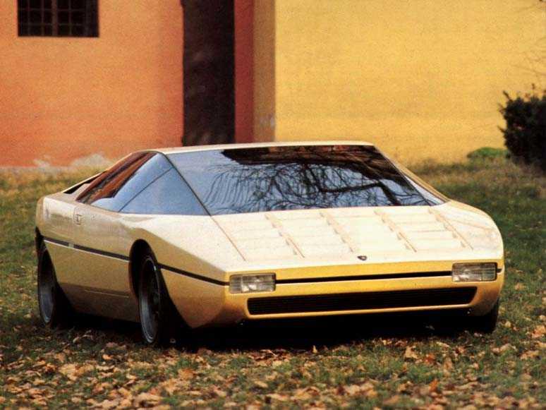 1970s Supercars Lamborghini Bravo