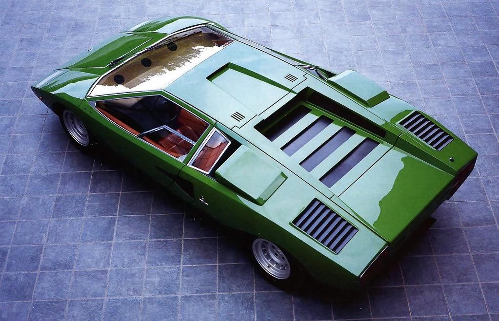1970s Supercars Lamborghini Countach Concept Car