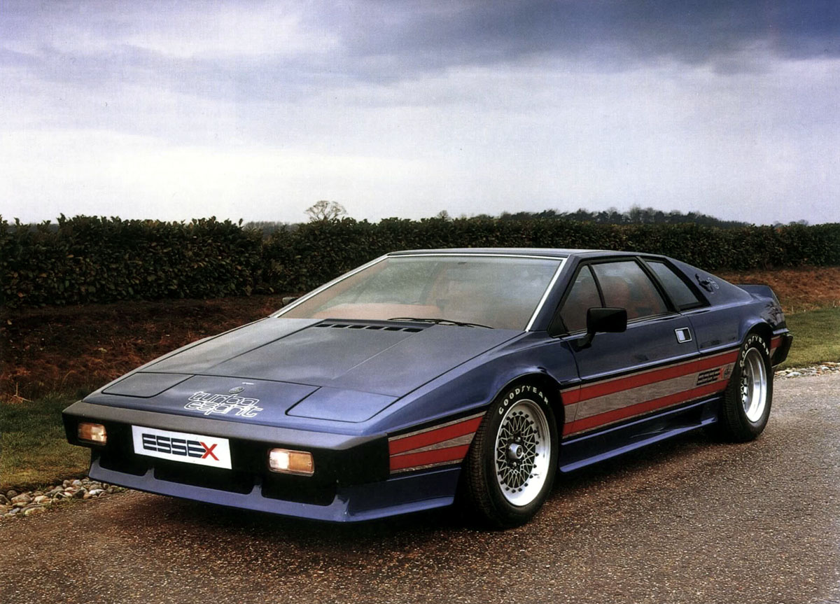 Lotus Turbo Esprit History 1980 1981 Amp 1987