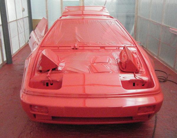 Lotus Esprit Respray
