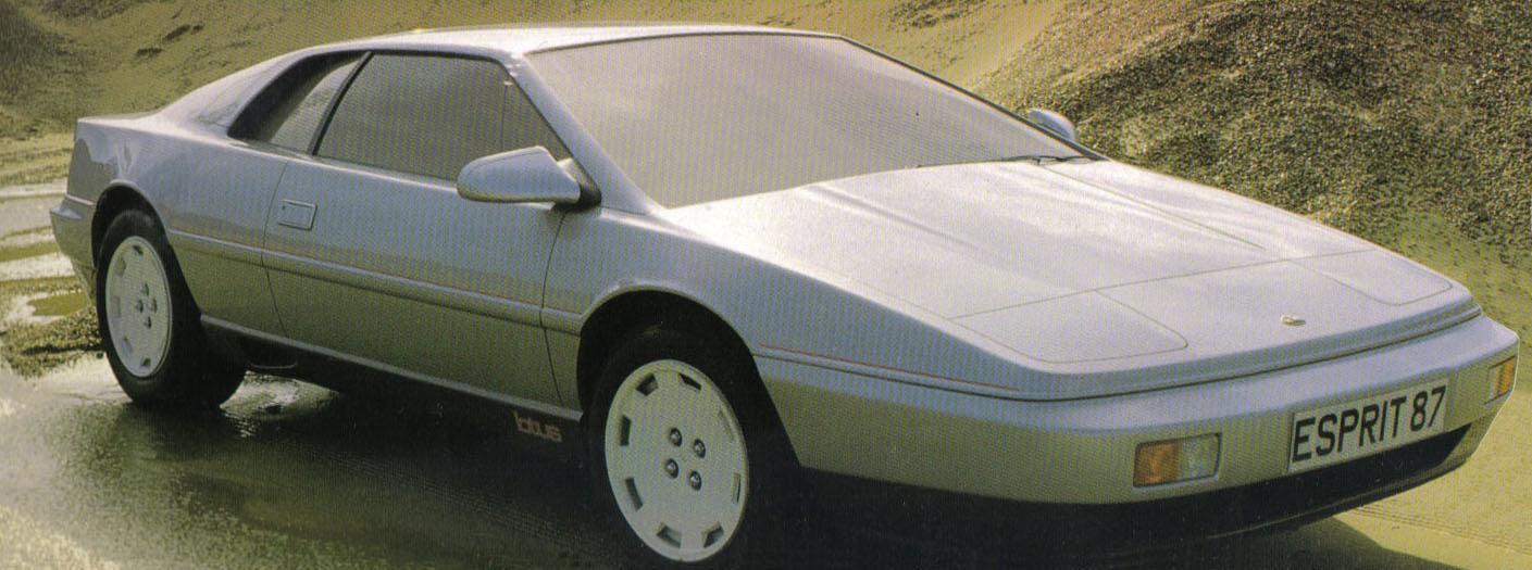 Car Styling Magazine Lotus Esprit X180 Concept Car 1988