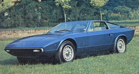 1970s Supercars - Maserati Khamsin