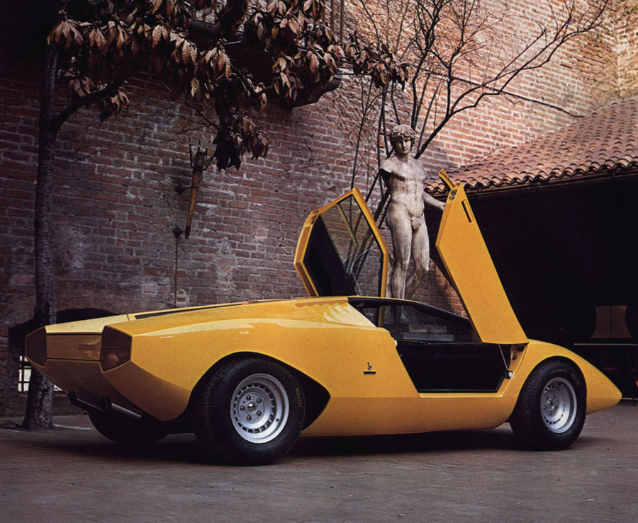 1970s supercars lamborghini countach concept car. Black Bedroom Furniture Sets. Home Design Ideas